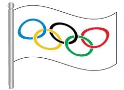 דגל אולימפי - Olympic flag