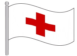 דגל הצלב האדום - the Red Cross flag