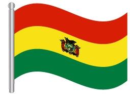 דגל בוליביה - Bolivia flag