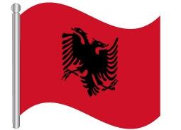 דגל אלבניה - Albania flag