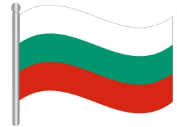 דגל בולגריה - Bulgaria flag
