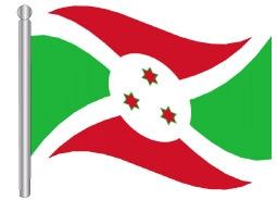 דגל בורונדי - Burundi flag