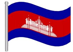 דגל קמבודיה - Cambodia flag