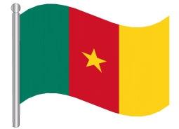דגל קמרון - Cameroon flag