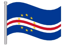 דגל כף ורדה -  Cape Verde flag