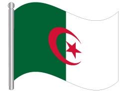 דגל אלג'יריה - Algeria flag