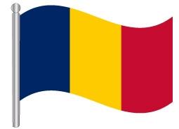 דגל צ'אד - Chad flag