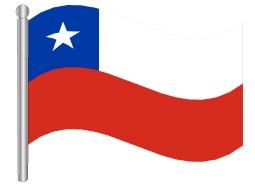 דגל צ'ילה - Chile flag