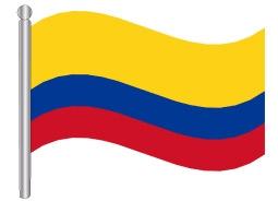 דגל קולומביה - Colombia flag