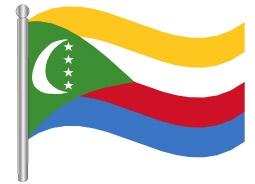 דגל איי קומורו - Comoros flag