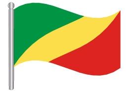 דגל הרפובליקה של קונגו - Republic of the Congo