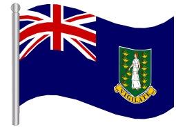 דגלון איי הבתולה הבריטיים - British Virgin Islands flag