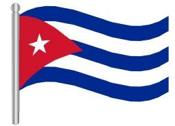 דגל קובה - Cuba flag