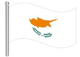 דגל קפריסין - Cyprus flag
