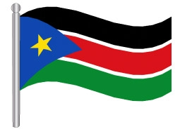 דגל דרום סודאן - South Sudan flag