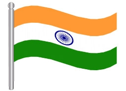 דגלון הודו - India flag