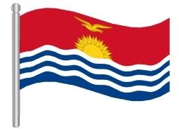 דגלון קיריבטי - Kiribati flag