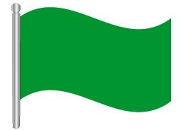דגלון לוב - Libya flag