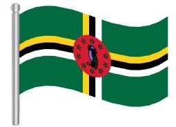 דגל דומיניקה - Dominica flag