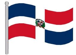 דגל הרפובליקה הדומיניקנית - Dominican Republic flag