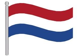 דגלון הולנד - Netherlands flag