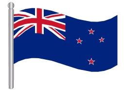 דגלון ניו זילנד - New Zealand flag
