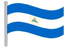 דגלון ניקרגואה - Nicaragua flag
