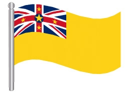 דגלון ניואה - Niue flag