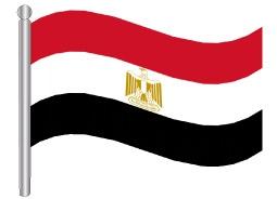 דגל מצרים - Egypt flag