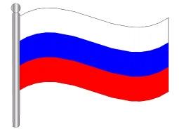 דגלון רוסיה - Russia flag
