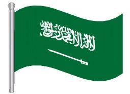 דגלון ערב הסעודית - Saudi Arabia flag