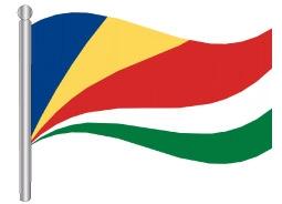 דגלון סיישל - Seychelles flag