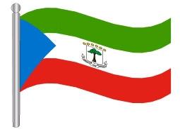 דגל גינאה המשוונית - Equatorial Guinea flag