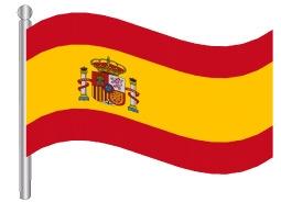 דגלון ספרד - Spain flag