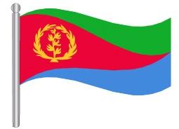 דגל אריתריאה - Eritrea flag