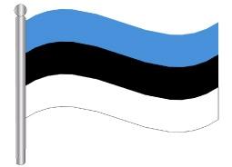 דגל אסטוניה - Estonia flag