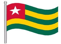 דגלון טוגו - Togo flag
