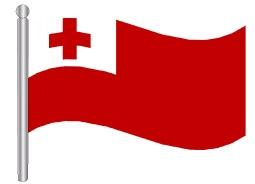 דגלון טונגה - Tonga flag
