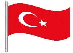 דגלון טורקיה - Turkey flag
