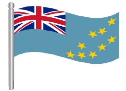 דגלון טובאלו - Tuvalu flag