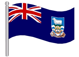דגל איי פוקלנד - Falkland Islands flag
