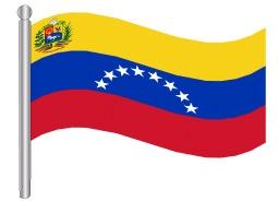 דגלון ונצואלה - Venezuela flag