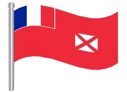 דגלון ואליס ופוטונה - Wallis and Futuna flag