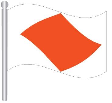 דגל פוקסטרוט - FOXTROTT FLAG