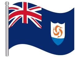 דגל אנגווילה - Anguilla flag