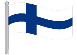 דגל פינלנד - Finland flag