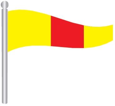 דגל ספרה 0 -  Flag Number 0
