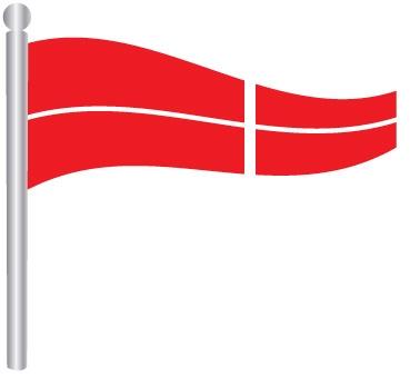 דגל ספרה 4 -  Flag Number 4