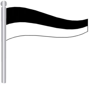 דגל ספרה 6 -  Flag Number 6