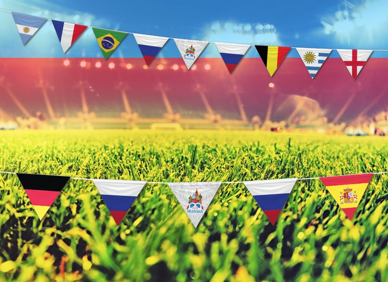 שרשרת מדינות צרפת בלגיה ולוגו   (10 מטר) לקראת חצי הגמר!
